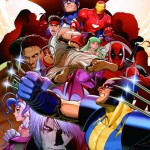 Marvel vs Capcom 3 comic wallpaper