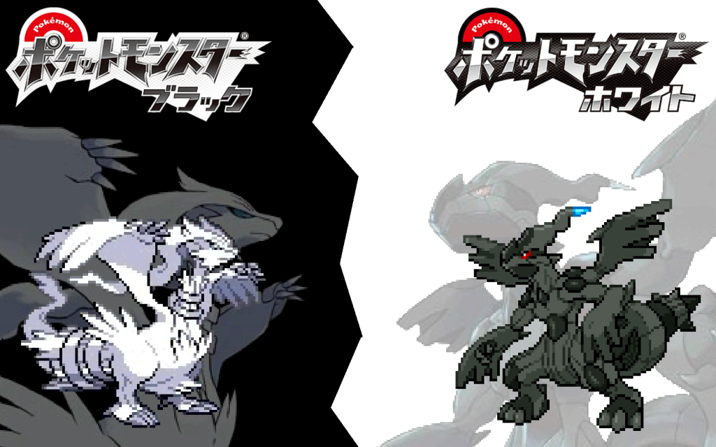 pokemon black amp white wallpaper