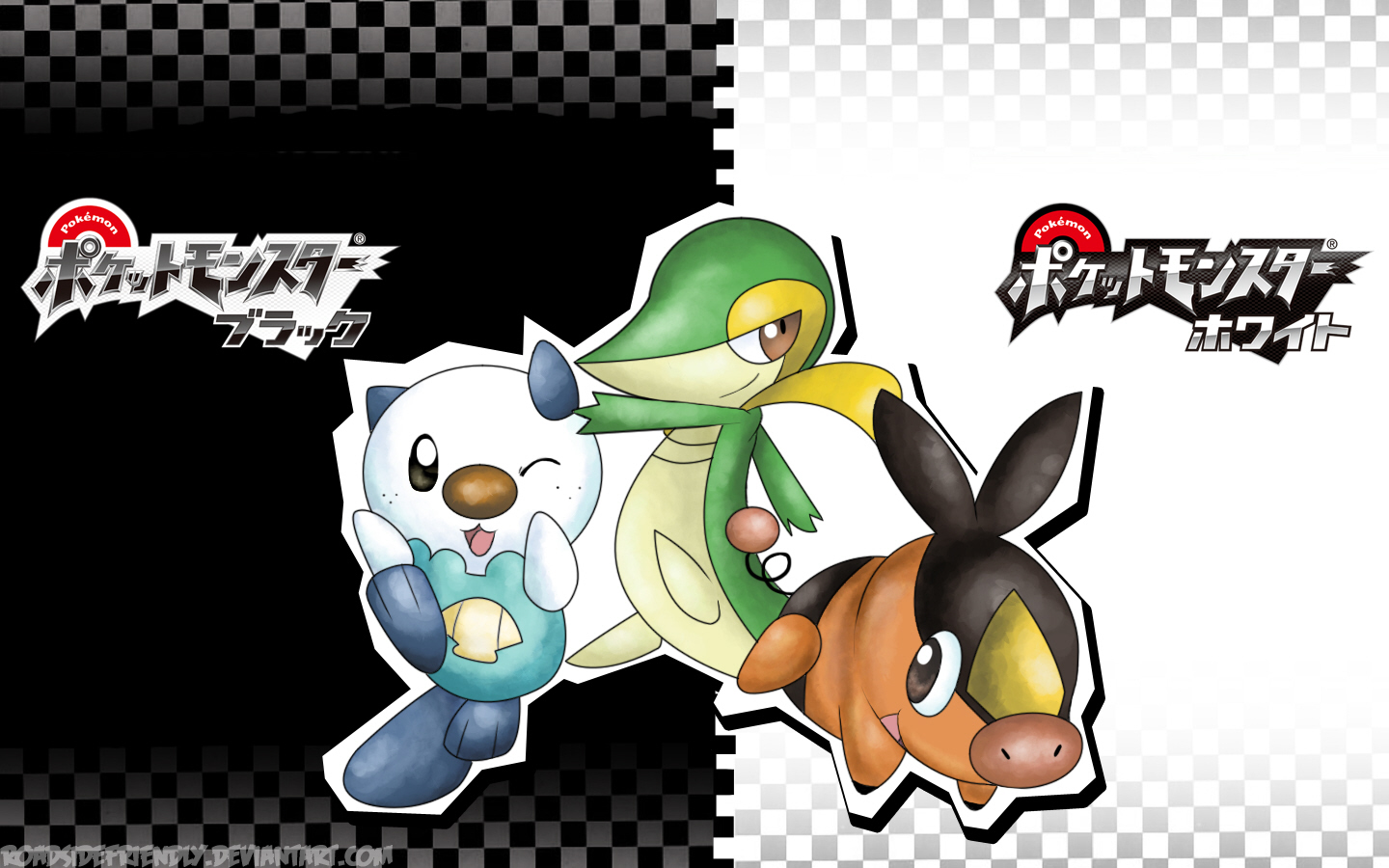 Pokemon Black White Wallpaper