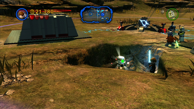 LEGO Star Wars 3 The Clone Wars Defenders of Peace Minikit 5 Screenshot