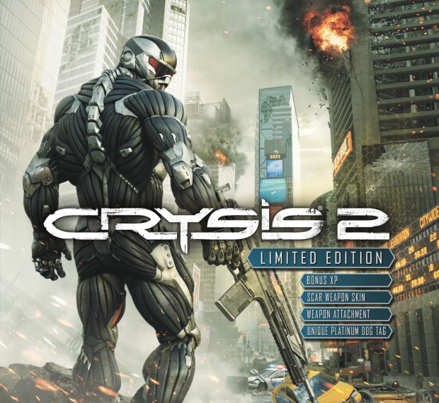 Crysis 2 walkthrough box art
