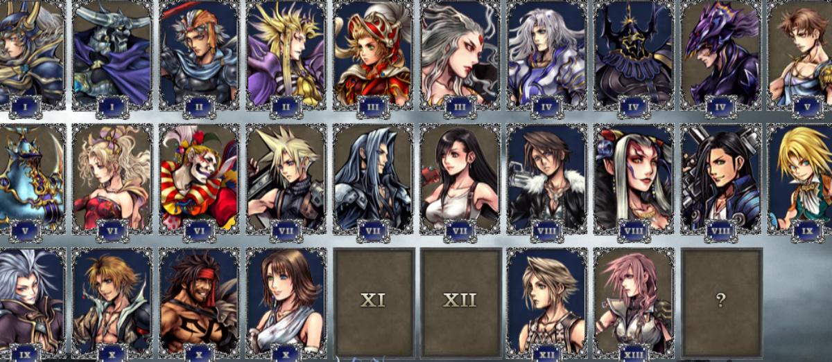 All final fantasy main characters - photo#9
