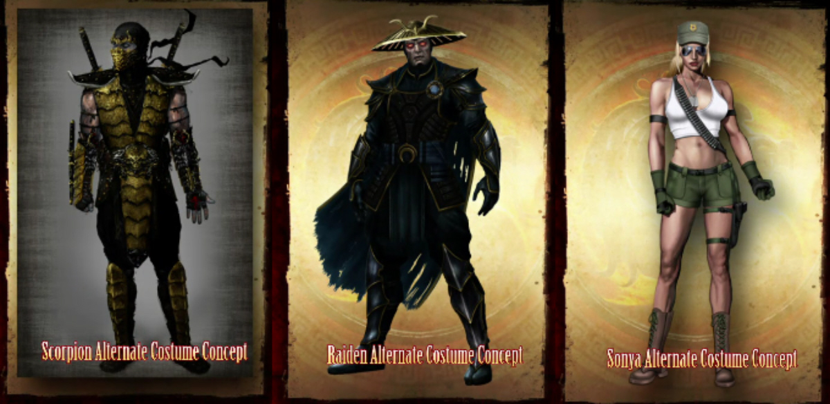 mortal kombat 9 characters alternate costumes. Mortal Kombat 2011 Alternate