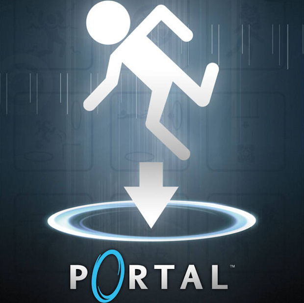 Portal 1 walkthrough artwork