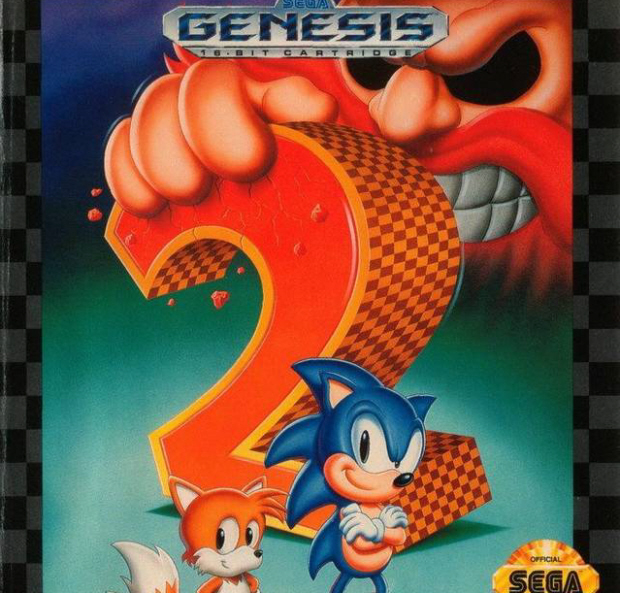 Sonic the Hedgehog 2 walkthrough box artwork