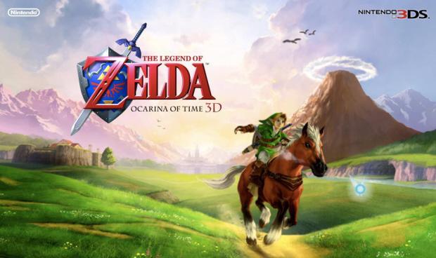 The Legend of Zelda: Ocarina of Time 3D wallpaper