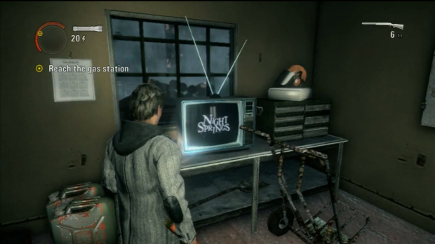 The Night Springs TV show in Alan Wake 1