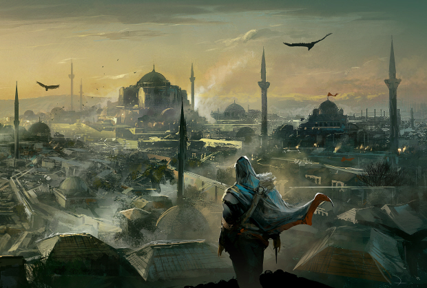 Assassin's Creed: Revelations artwork for the city of Contantinople