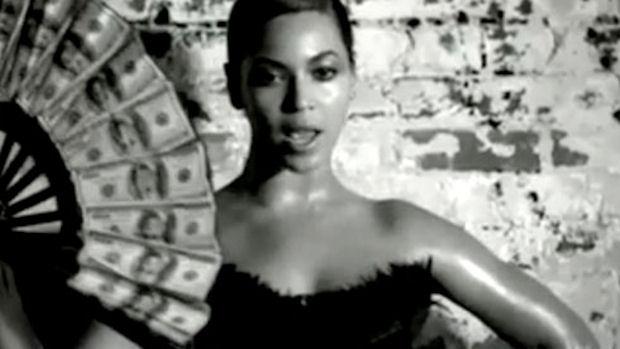 Beyonce's money fan