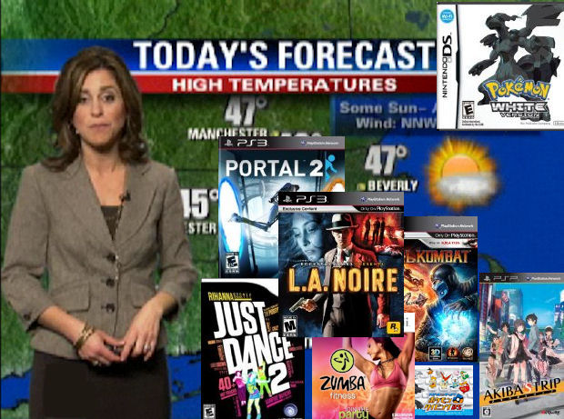 Games Weather Report Week 20