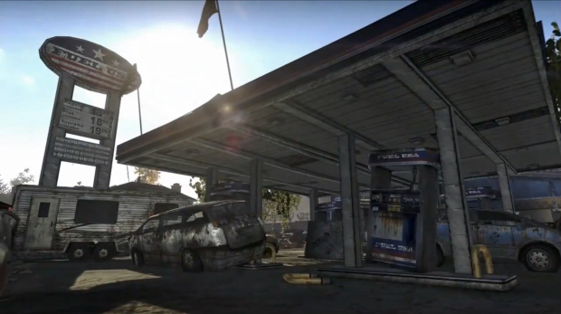 The Fuel USA gas station in Homefront. DLC coming