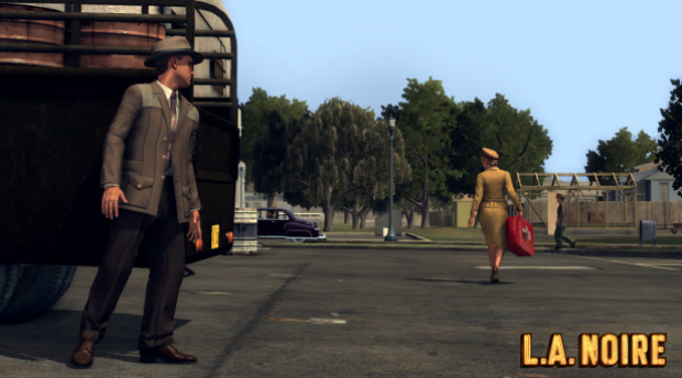 LA Noire Achievement The Moose for tailing Candy Edwards