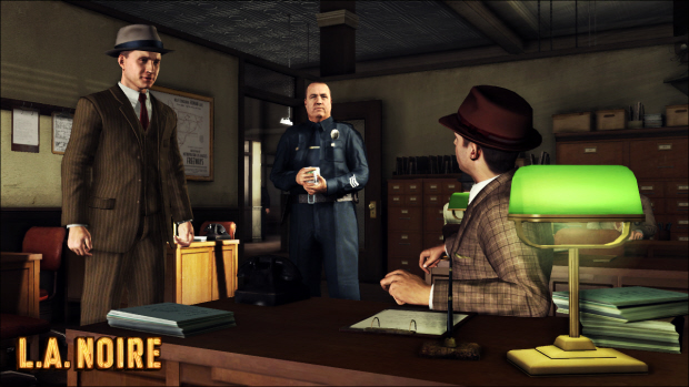 After just being promoted to Detective, Cole Phelps meets his new partner Stefan Bekowsky on the Traffic Desk.