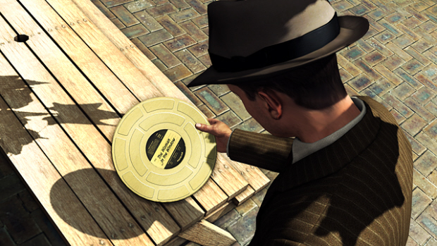 Collecting Gold Film Reels in LA Noire. Collectables for the win!