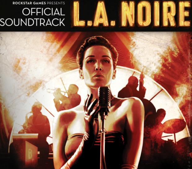 L.A. Noire official soundtrack CD art