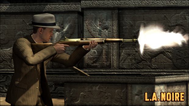 Guns play a big part in L.A. Noire and make effective weapons