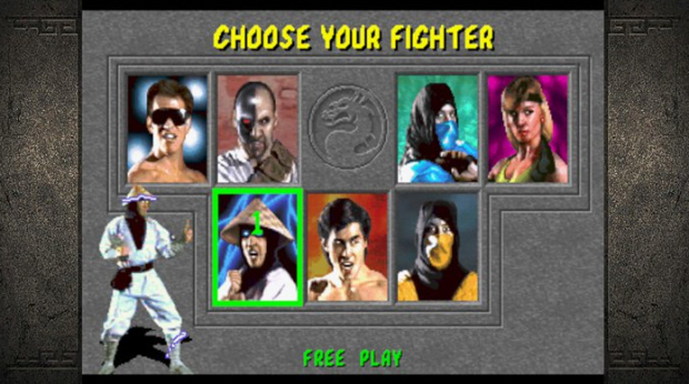 Mortal Kombat Kollection screenshot of MK1