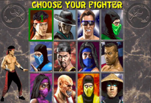 Mortal Kombat Kollection screenshot of MK2