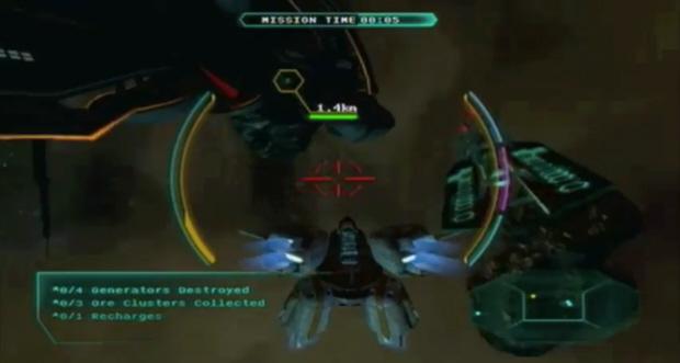 Star Raiders Xbox Live Arcade remake screenshot