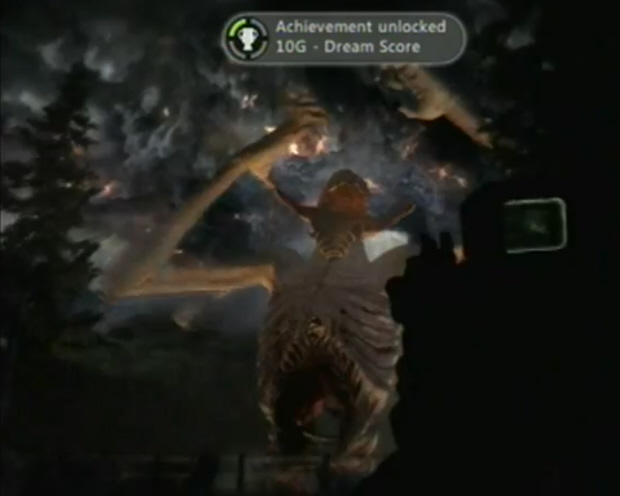 Dream Score Achievement being earned in F.E.3.R. for Xbox 360