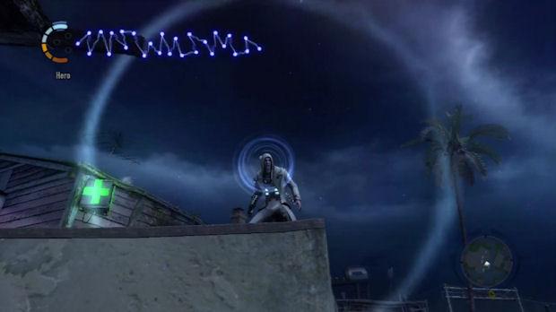 InFamous 2 Blast Shard Sense screenshot