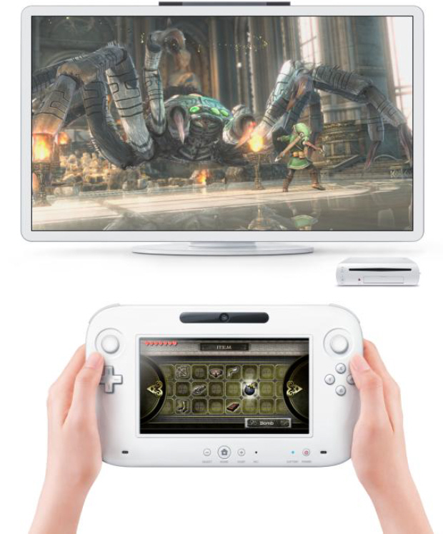 Nintendo Wii U system and controller