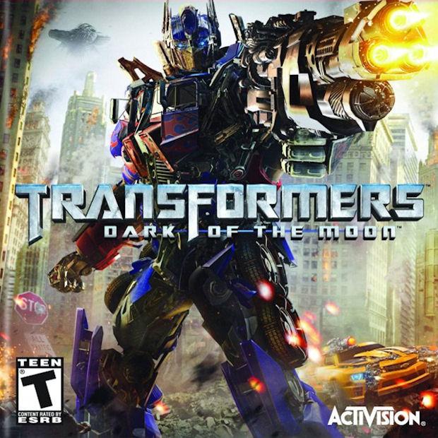 Transformers Dark of the Moon walkthrough cover artwork