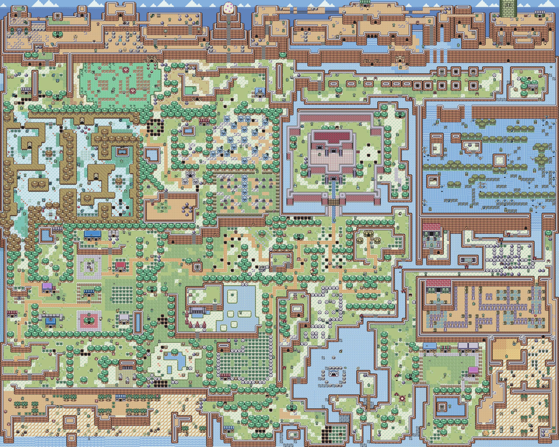 Zelda Maps and Link on Pinterest