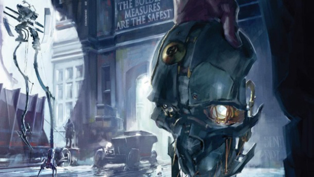 Dishonored game artwork. New FPS from Bethesda