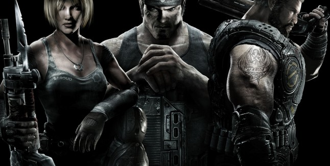 Gears Of War 3 Preview Picture Of The Cast