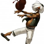 King of Fighters XIII Chin Gentsai Character Artwork