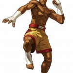 King of Fighters XIII Joe Higashi Character Artwork