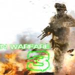 Modern Warfare 3 Wallpaper Through the Fire