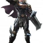 Soul Calibur 5 Siegfried artwork. The series' main protagonist returns!