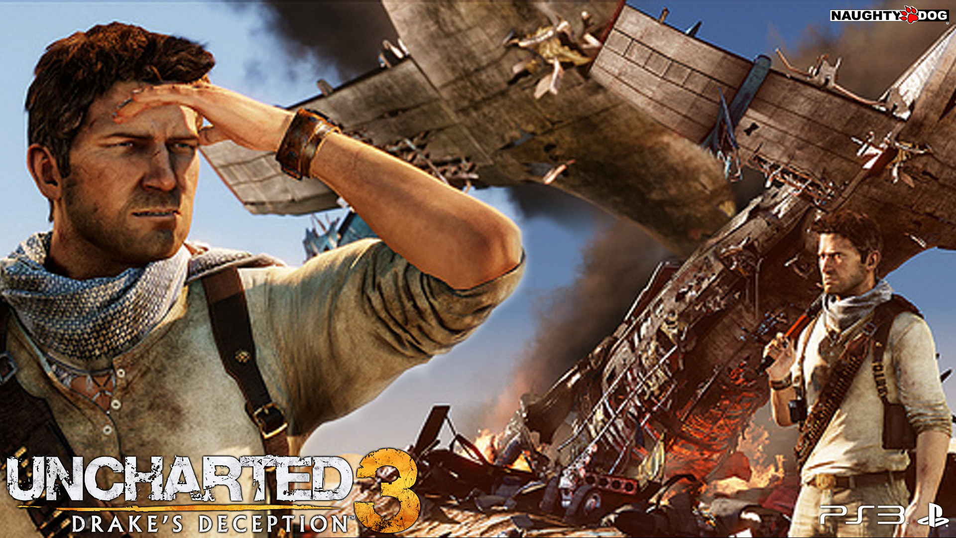 Uncharted 3 Drake's Deception Wallpaper Uncharted 3 Drakes Deception Wallpaper