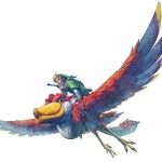 Zelda: Skyward Sword Wallpaper Link's Bird