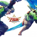 Zelda: Skyward Sword Wallpaper Link x2