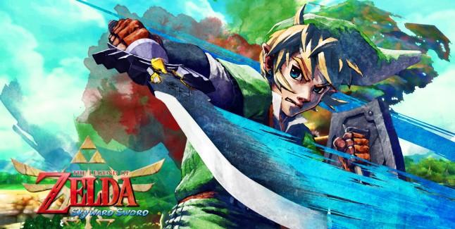 Zelda: Skyward Sword Wallpaper Beautiful Watercolor-style by Arkazain