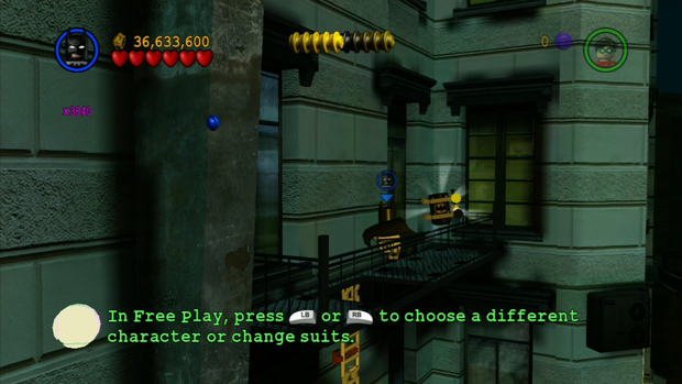 LEGO Batman The Videogame Minikit Screenshot 1