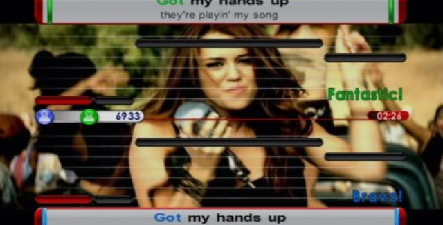 Sing4: The Hits Edition Songs List Screenshot (Wii)