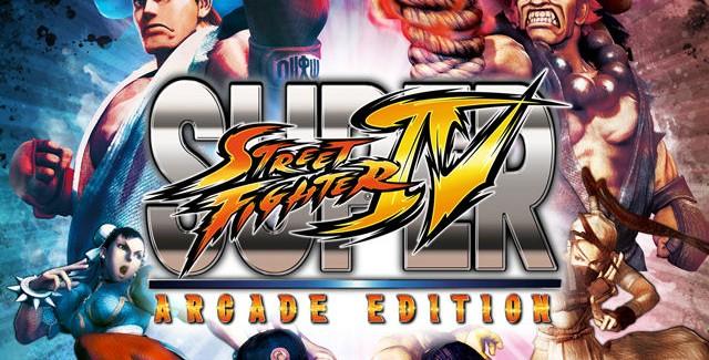 Super Street Fighter IV: Arcade Edition logo