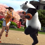 Tekken Tag Tournament 2 Ling Xiaoyu and Panda Dancing