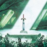 The Legend of Zelda Wallpaper (Link to the Past) - The Master Sword Rests In The Lost Woods