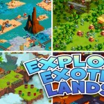 Adventure World Screenshot of Levels and Worlds and Exotic Locations!