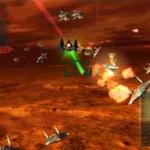 Star Fox 64 3D Screenshot - Soaring Above