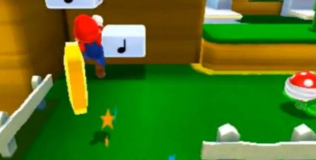 Super Mario 3D Land Demo Screenshot