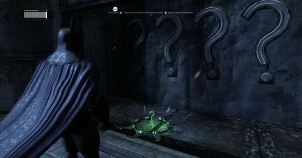 Batman Arkham City Riddler Trophy 1 Screenshot