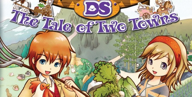 Harvest Moon: The Tale of Two Towns Walkthrough Box Art