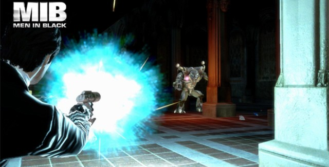Men In Black III: The Video Game Gameplay Screenshot