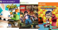 On Xbox Live Lego Harry Potter: Years 5-7 & Rabbids Demos, BurgerTime on Arcade